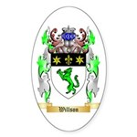 Willson Sticker (Oval 50 pk)
