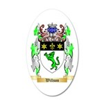 Willson 35x21 Oval Wall Decal
