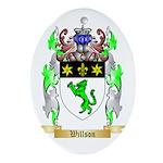 Willson Oval Ornament