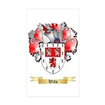 Wills Sticker (Rectangle 50 pk)