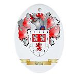 Wills Oval Ornament