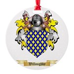 Willoughby Round Ornament