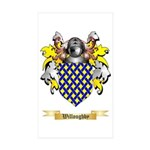 Willoughby Sticker (Rectangle 10 pk)