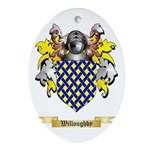 Willoughby Oval Ornament