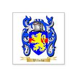 Willocks Square Sticker 3