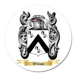 Willms Round Car Magnet