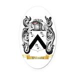 Willmotts Oval Car Magnet