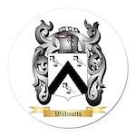 Willmotts Round Car Magnet
