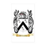 Willmotts Sticker (Rectangle 10 pk)