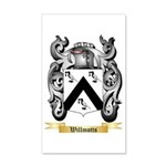 Willmotts 35x21 Wall Decal