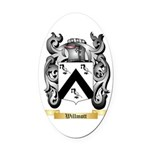 Willmott Oval Car Magnet