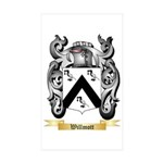 Willmott Sticker (Rectangle 50 pk)