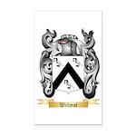 Willmot Rectangle Car Magnet