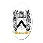 Willmot 20x12 Oval Wall Decal