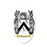Willmin Oval Car Magnet
