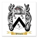 Willmin Square Car Magnet 3