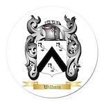 Willmin Round Car Magnet