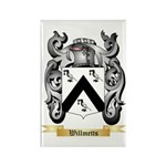 Willmetts Rectangle Magnet (100 pack)