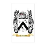 Willmetts Sticker (Rectangle 50 pk)