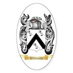 Willmetts Sticker (Oval)