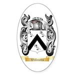 Willmetts Sticker (Oval 10 pk)