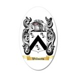 Willmetts 35x21 Oval Wall Decal