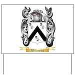 Willmetts Yard Sign