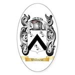 Willment Sticker (Oval 50 pk)