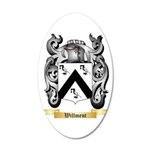 Willment 20x12 Oval Wall Decal