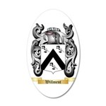 Willment 35x21 Oval Wall Decal