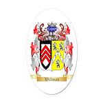 Willman Oval Car Magnet