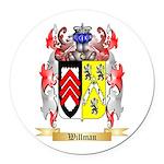 Willman Round Car Magnet