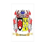 Willman Sticker (Rectangle 10 pk)