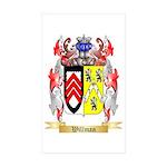 Willman Sticker (Rectangle 50 pk)