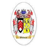 Willman Sticker (Oval 50 pk)