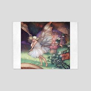 Fairy & Mrs. Bramble - Florence Mar 5'x7'Area Rug