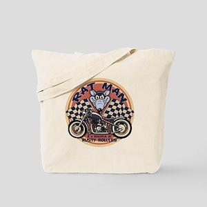 Rat Man Roadful Tote Bag