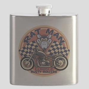Rat Man Roadful Flask