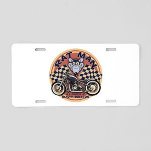 Rat Man Roadful Aluminum License Plate