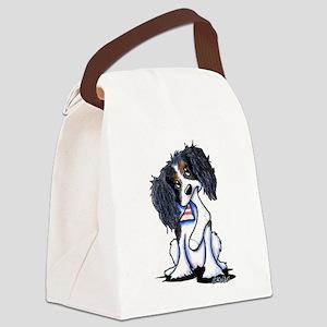 B&B King Charles Spaniel Canvas Lunch Bag