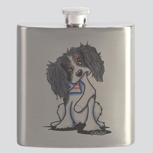 B&B King Charles Spaniel Flask