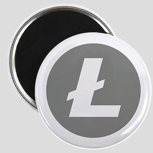 HD Litecoin 2 Official Logo Litecoin Magnets