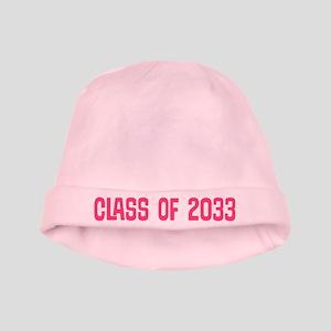 Class Of 2033 Graduating Baby Girl baby hat
