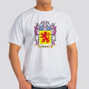 Curti Coat of Arms (Family Crest) T-Shirt