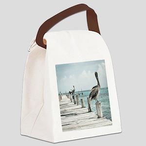 Pelicans Canvas Lunch Bag