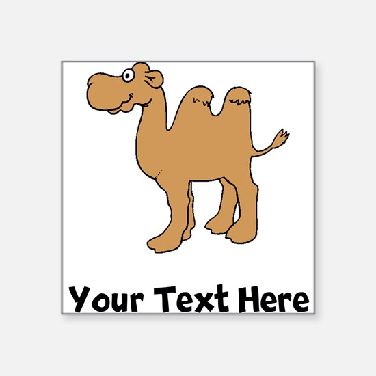 Cartoon Camel (Custom) Sticker