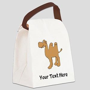61b90592d13f Cartoon Camel Canvas Lunch Bags - CafePress