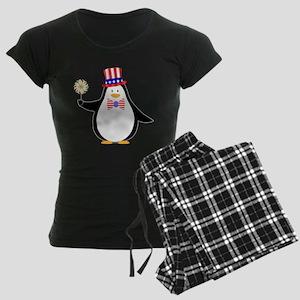 Patriotic Penguin Pajamas