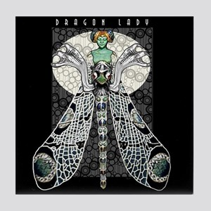 Dragon Lady Tile Coaster