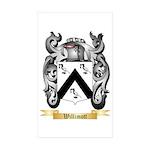 Willimott Sticker (Rectangle 50 pk)